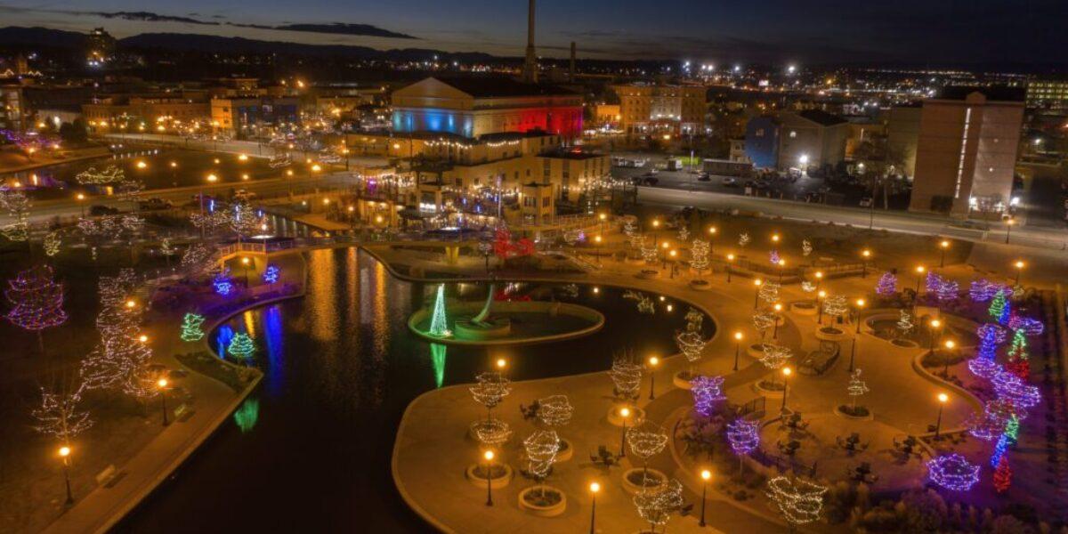Christmas Lights in Pueblo